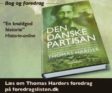 """Bog og foredrag om den danske partisan """"Paolo il Danese"""""""