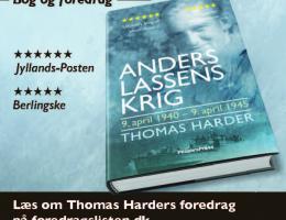 Bog og foredrag om Anders Lassen