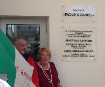 """Inaugurazione della Sala Civica """"Paolo il Danese"""""""