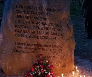 Tale i Torpeskoven, den 4. maj 2019