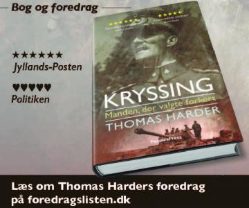 Bog og foredrag om den første chef for Frikorps Danmark, C.P. Kryssing