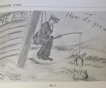 """Minestrygning i danske farvande efter besættelsen (Overskudskapitel fra """"De uønskede - De tyske flygtninge i Danmark 1945-1949"""" - 2)"""