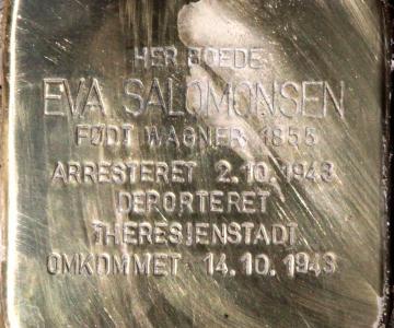 Foredrag: En sten for Eva - Bogense 1855-Theresienstadt 1943
