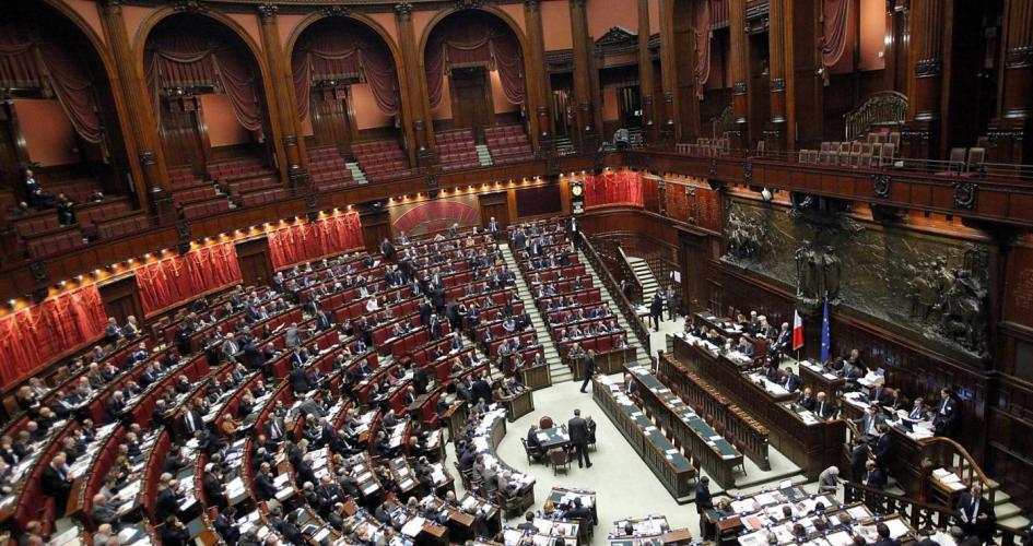 Foredrag om Det politiske liv i Italien