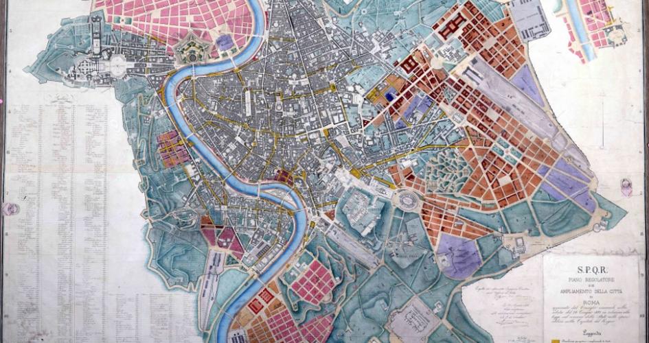 Foredrag om pladser og paladser i Rom