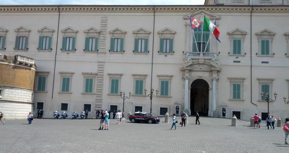 """Interview i radio24syvs """"55 minutter"""" om Lega, Femstjernebevægelsen og Italiens præsident"""