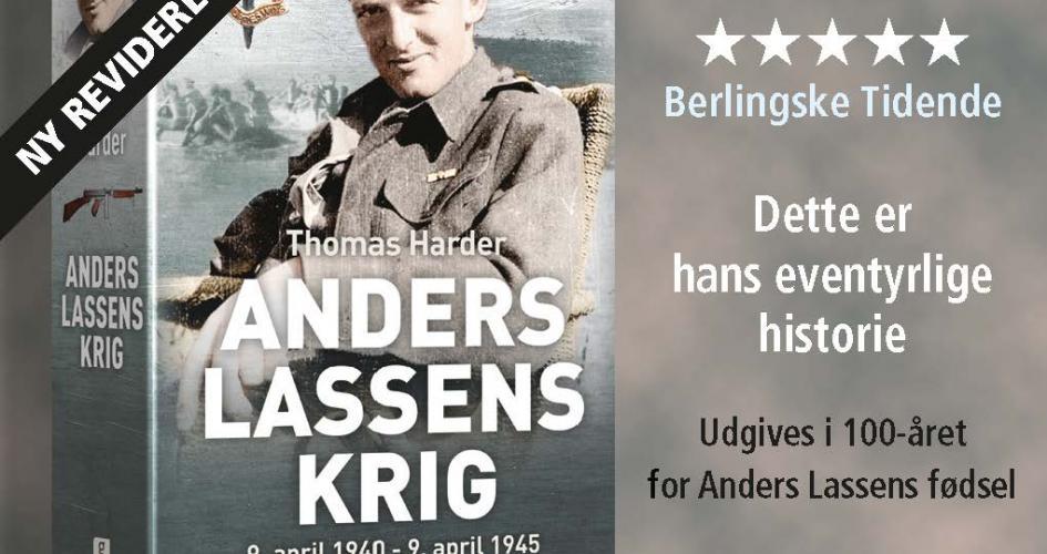 Anders Lassen - bog og foredrag